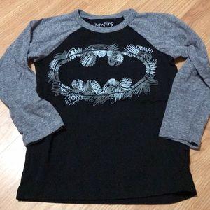 Jumping Beans Batman Long Sleeve tee shirt size 6